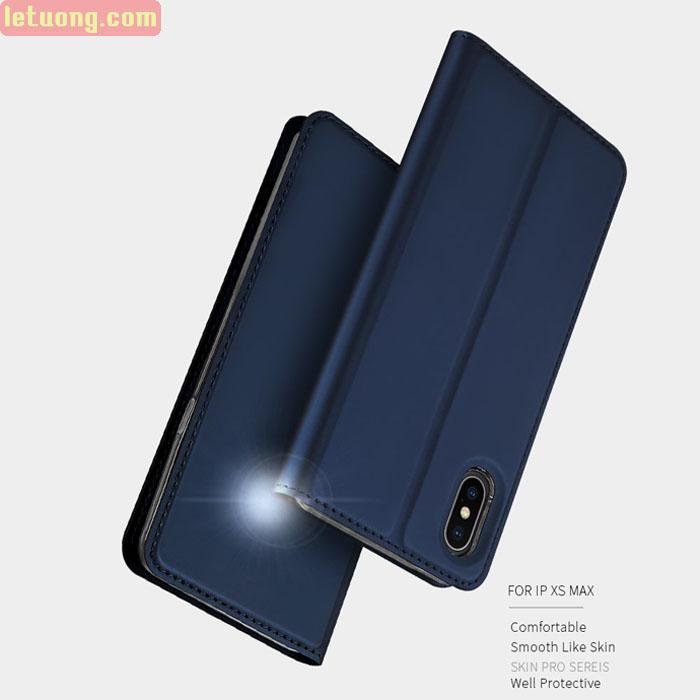Bao da iPhone Xs Max Dux Ducis Skin khung mềm siêu mỏng