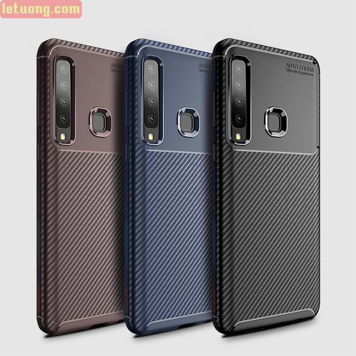 Ốp lưng Galaxy A9 2018 LT Carbon Fiber Case chống vân tay