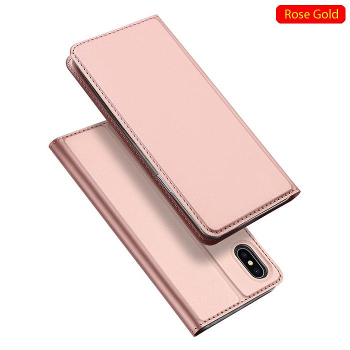 Bao da iPhone Xs Max Dux Ducis Skin khung mềm siêu mỏng + Tặng dán lưng Carbon
