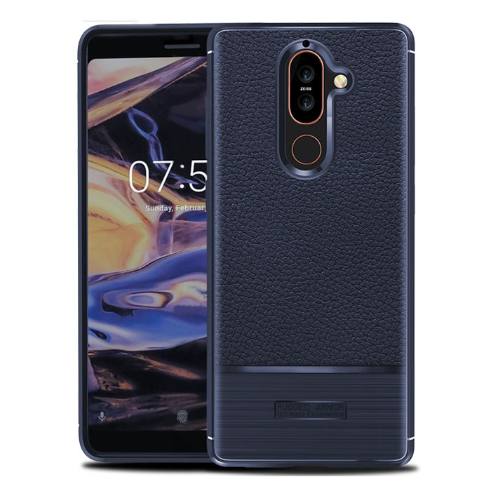 Ốp lưng Nokia 7 Plus Rugged Armor Ultimate Experience nhựa mềm chống sốc