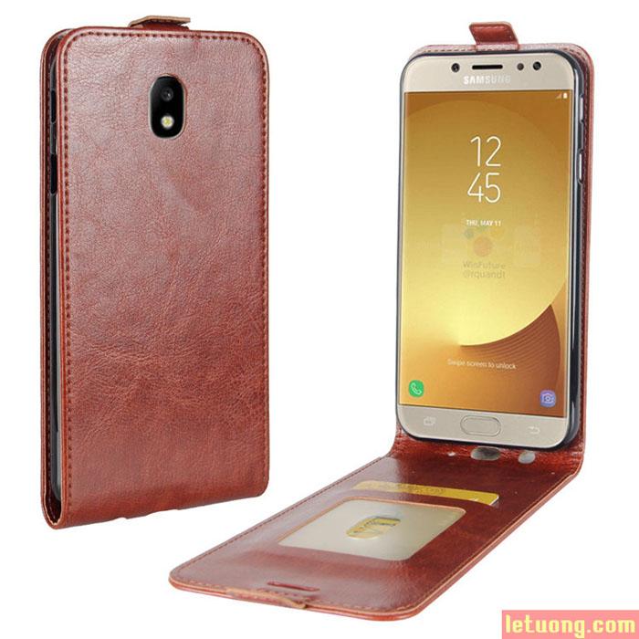 Bao da Galaxy J7 Pro ( J7 2017 ) LT Jacka Leather gập dọc cực độc