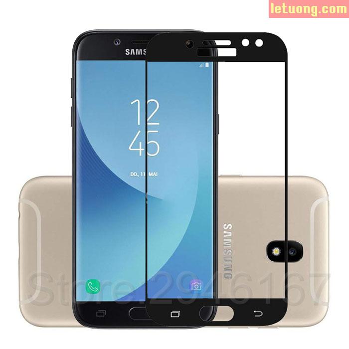 Kính cường lực full màn hình Galaxy J7 Pro Glass Full Cover 3D
