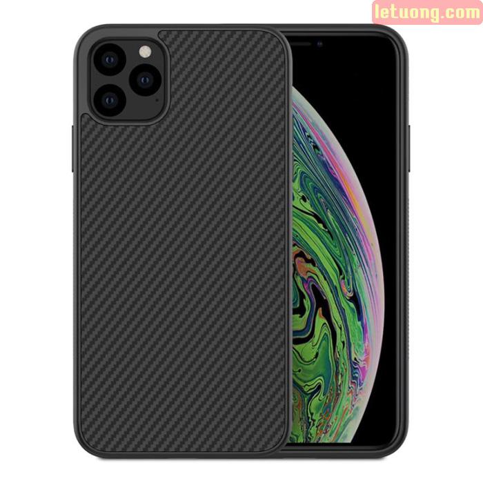 Ốp lưng iPhone 11 Pro Max Nillkin Synthetic Fiber sợi Carbon siêu bền