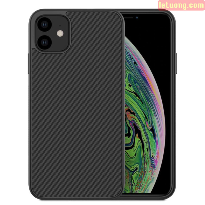 Ốp lưng iPhone 11 Nillkin Synthetic Fiber sợi Carbon siêu bền