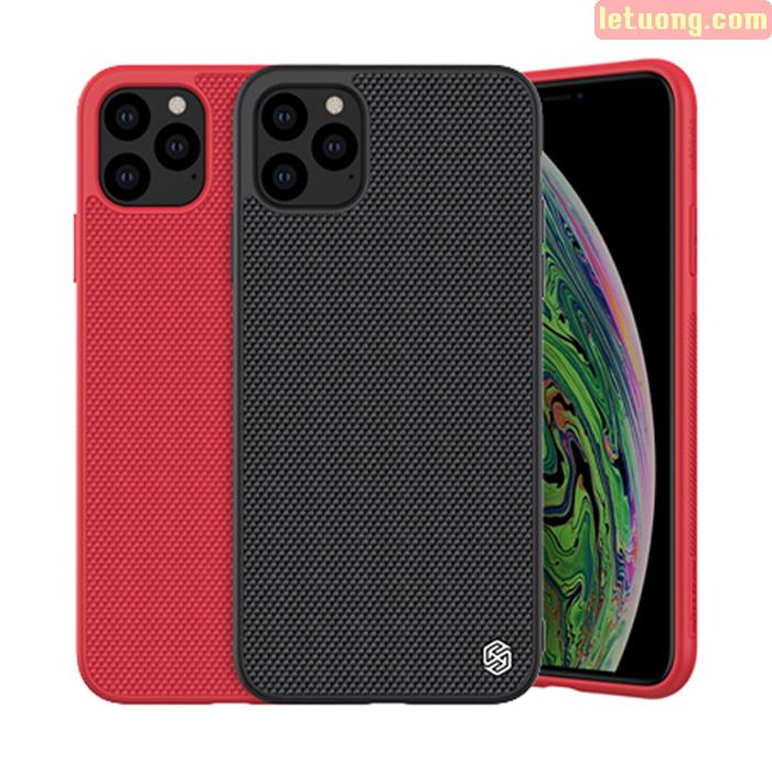 Ốp lưng iPhone 11 Pro Max Nillkin Texture 3D Case sợi Nylon siêu mỏng