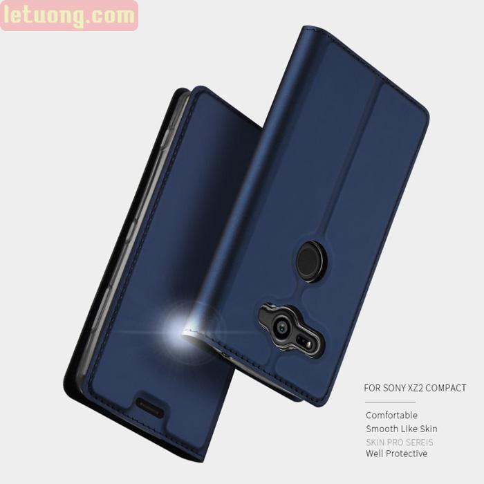Bao da Sony XZ2 Compact Dux Ducis Skin siêu mỏng - khung mềm