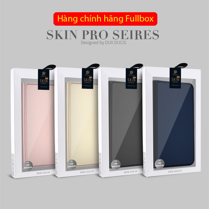 Bao da Honor 8X Dux Ducis Skin khung mềm - siêu mỏng - siêu mịn