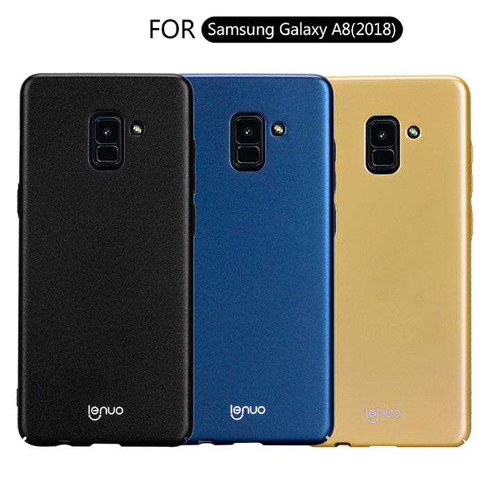 Ốp lưng Galaxy A8 2018 Lenuo Leshield Case siêu mỏng, siêu nhẹ