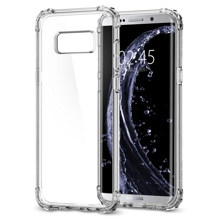 Ốp lưng Galaxy S8 Spigen Crystal Shell Armor trong suốt USA