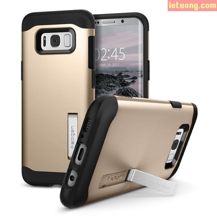 Ốp lưng Galaxy S8 Spigen Slim Armor chống sốc mỏng nhất từ USA