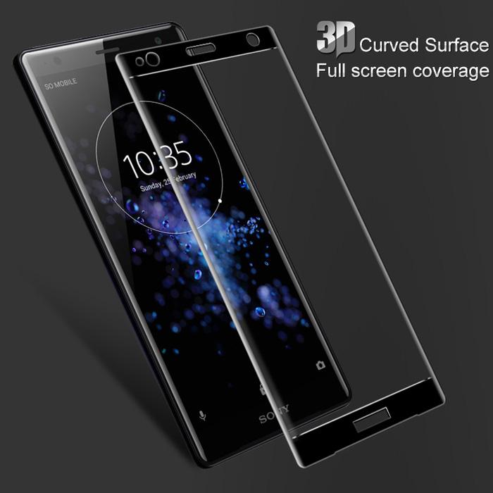 Kính cường lực Sony XZ2 Mocolo 3D Edge full cong theo màn hình