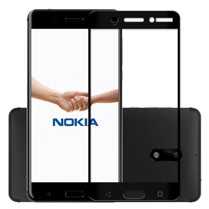 Kính cường lực Full màn hình Nokia 6 Glass Full Cover 3D
