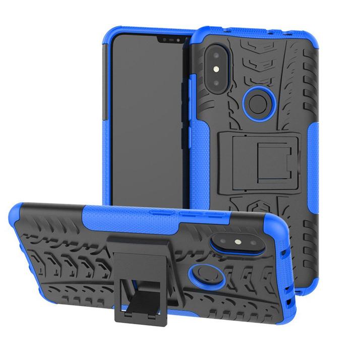 Ốp lưng Redmi Note 6 Pro LT Armor Special chống sốc kiêm chân chống
