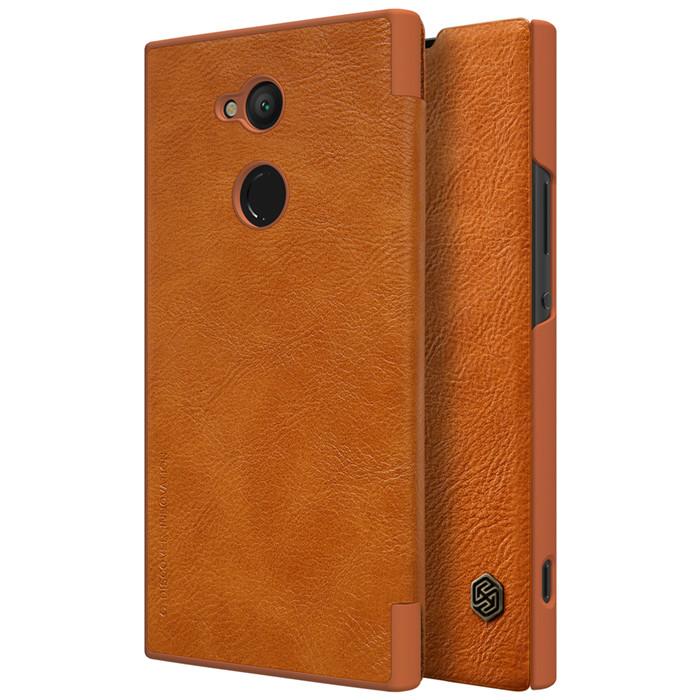Bao da Sony Xperia XA2 Nillkin Qin Leather sang trọng cổ điển