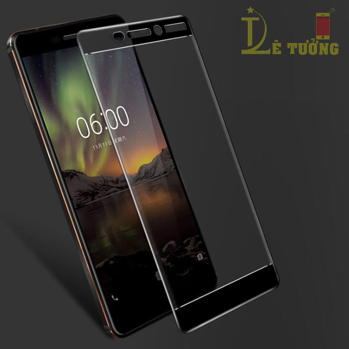 Kính cường lực Nokia 7 Plus Glass Full Cover 5D full keo toàn màn hình