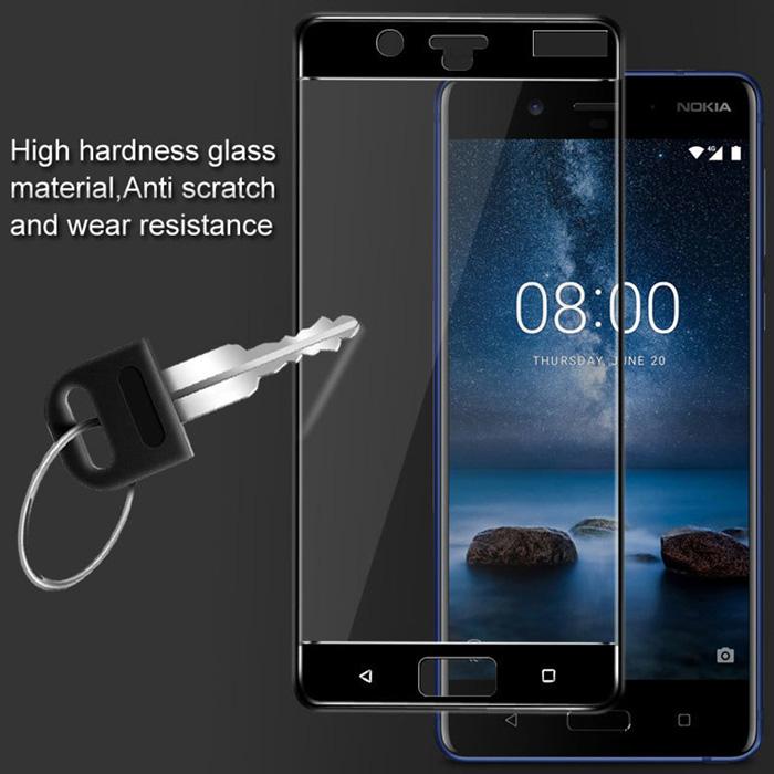 Kính cường lực Nokia 8 Glass Full Cover 5D full keo toàn màn hình