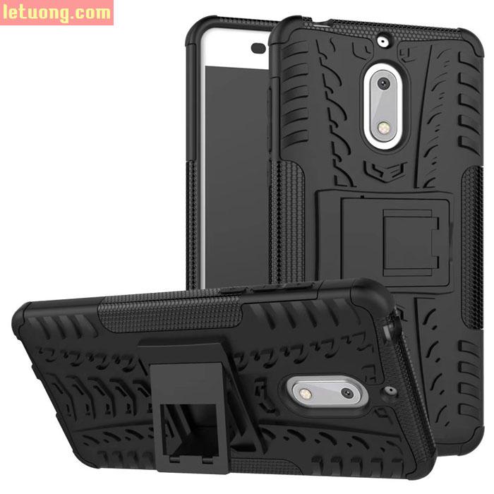 Ốp lưng Nokia 6 LT Armor Special chống sốc có chân chống