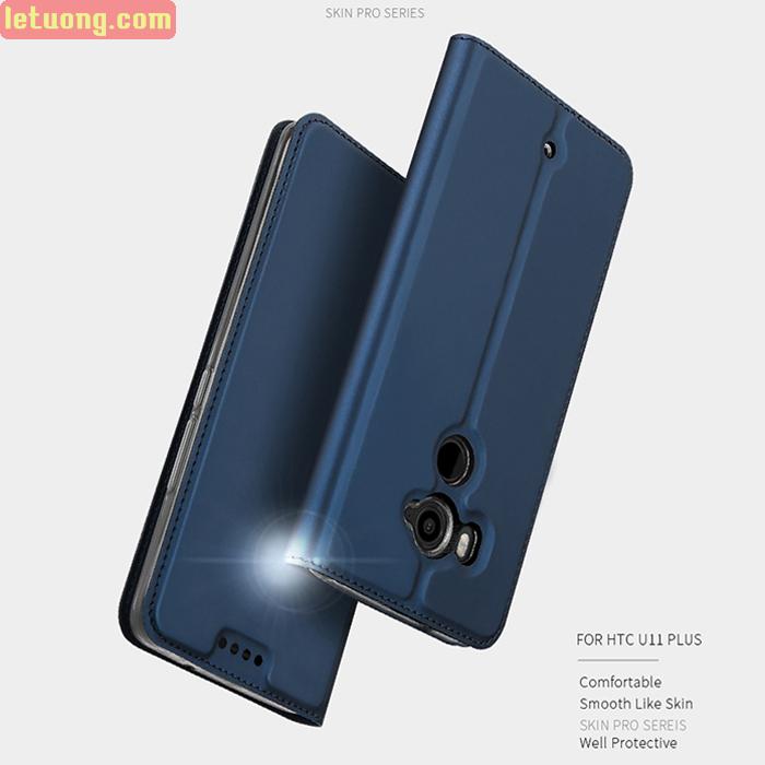 Bao da HTC U11 Plus Dux Ducis Skin khung mềm siêu mỏng
