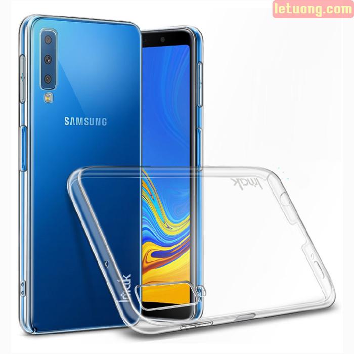 Ốp lưng Galaxy A7 2018 Imak Impact Air 360 trong suốt không ố vàng