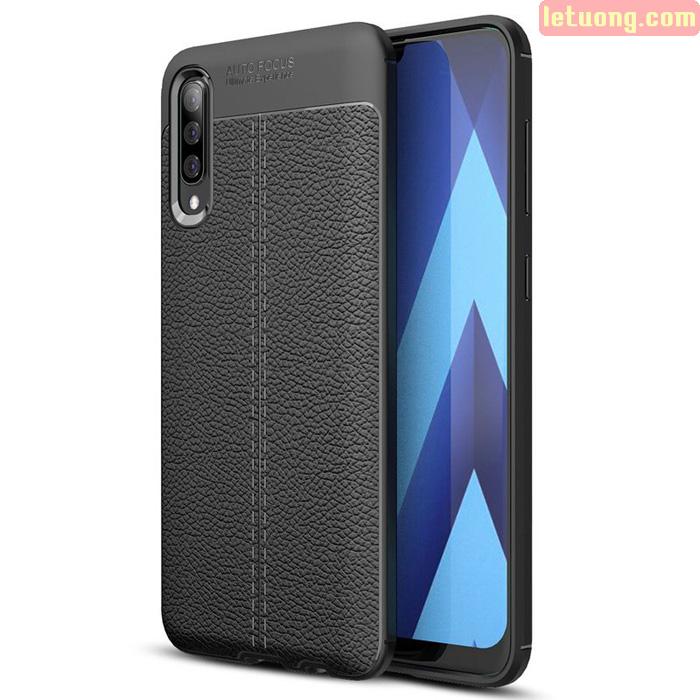 Ốp lưng Galaxy A50s / A50 LT Leather Design Case vân da sang trọng