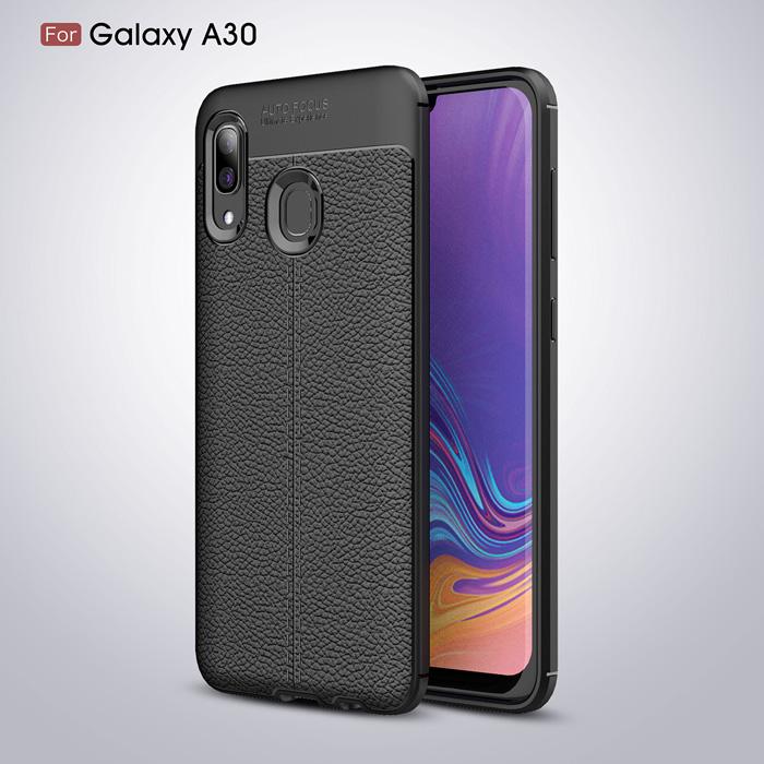 Ốp lưng Galaxy A30 LT Leather Design Case vân da sang trọng