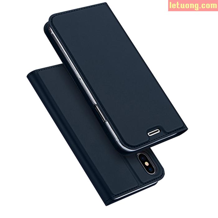 Bao da iPhone Xs Dux Ducis Skin khung mềm siêu mỏng