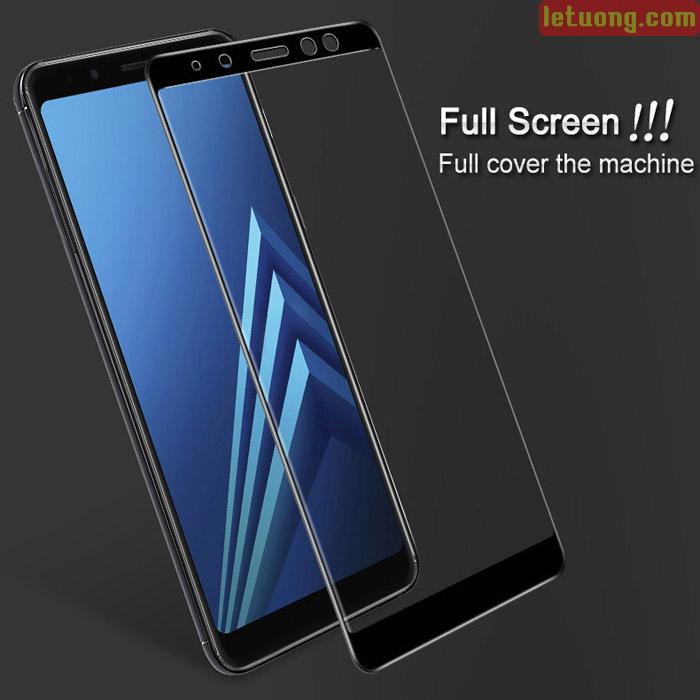 Kính cường lực Galaxy A8 2018 Imak Full Cover 3D full màn hình
