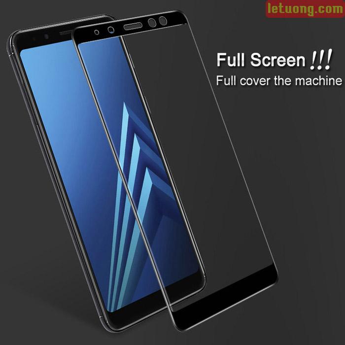 Kính cường lực Galaxy A8 Plus 2018 Imak Full Cover 3D full màn hình