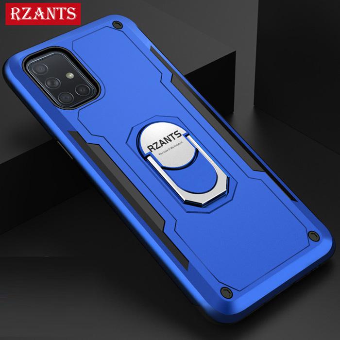 Ốp lưng Galaxy A51 Rzants Hybrid Armor iRing Car