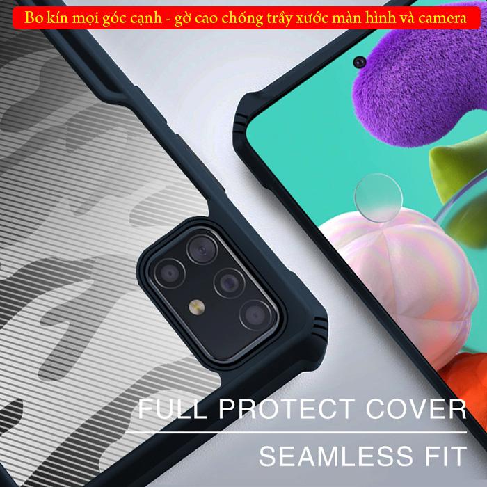 Ốp lưng Samsung Galaxy A51 Rzants Armor Camo