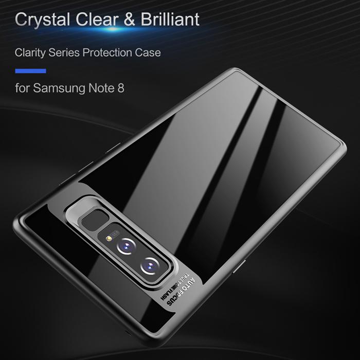 Ốp lưng Galaxy Note 8 Rock Protectinon Case lưng trong viền mềm