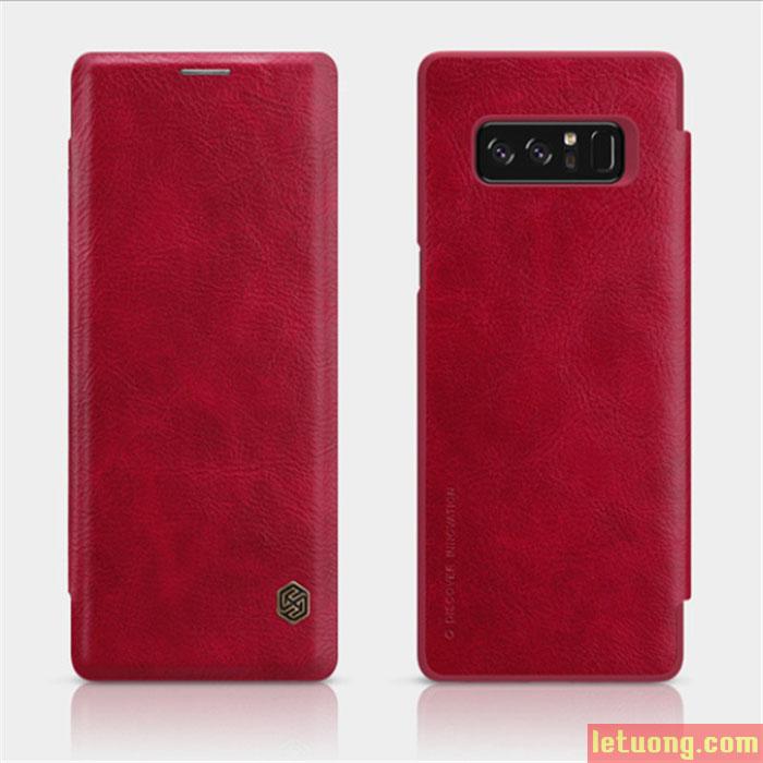 Bao da Galaxy Note 8 Nillkin Qin Leather Case