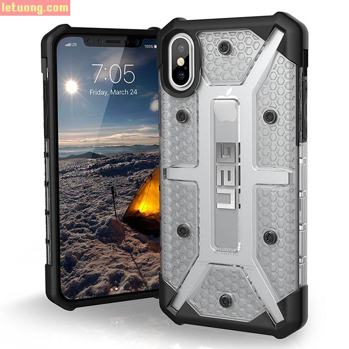 Ốp lưng iPhone Xs UAG Plasma Armor chống sốc, trong suốt ( hàng USA )