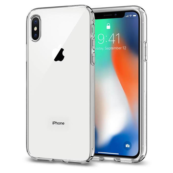 Ốp lưng iPhone Xs Spigen Liquid Crystal trong suốt ( Hàng USA )