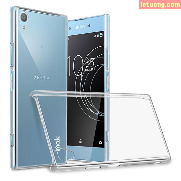 Ốp lưng Sony XA1 Plus Imak Nano trong suốt - không ố vàng