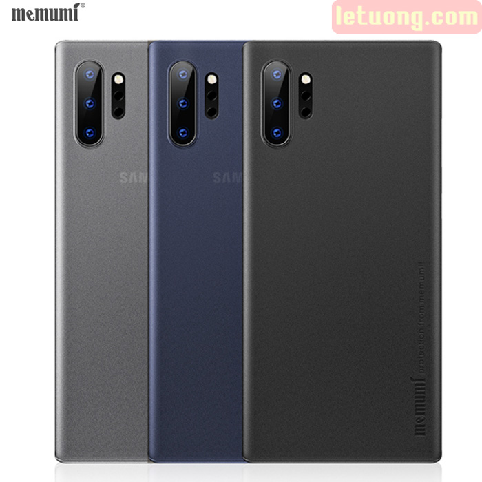 Ốp lưng Galaxy Note 10 Plus Memumi Ultra Thin 0,3 siêu mỏng