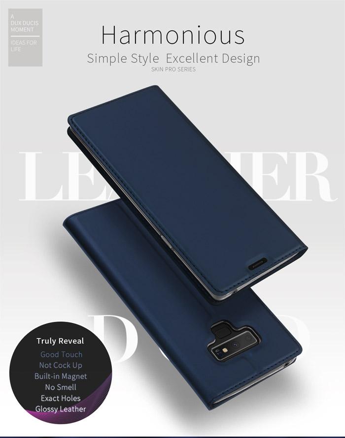 Bao da Galaxy Note 9 Dux Ducis Skin khung mềm - siêu mỏng 1