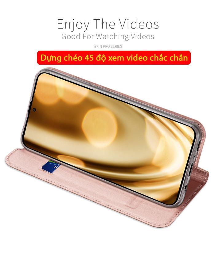Bao da Galaxy A51 Dux Ducis Skin khung mềm - siêu mỏng - siêu mịn 3