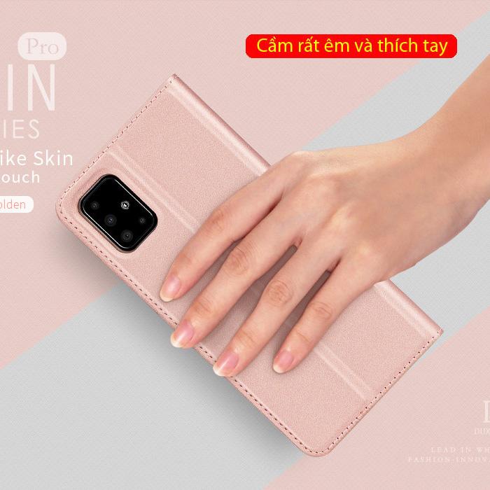 Bao da Galaxy A51 Dux Ducis Skin khung mềm - siêu mỏng - siêu mịn 1