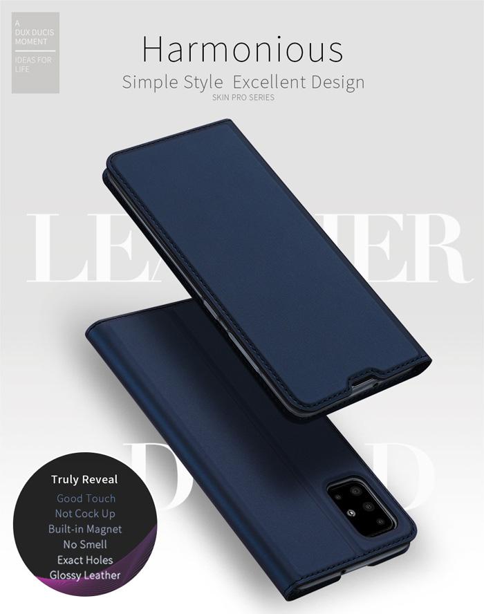 Bao da Galaxy A51 Dux Ducis Skin khung mềm - siêu mỏng - siêu mịn 4