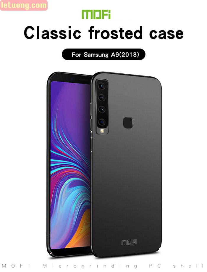Ốp lưng Galaxy A9 2018 Mofi Fitted Case 360 siêu mỏng, lưng mịn 3
