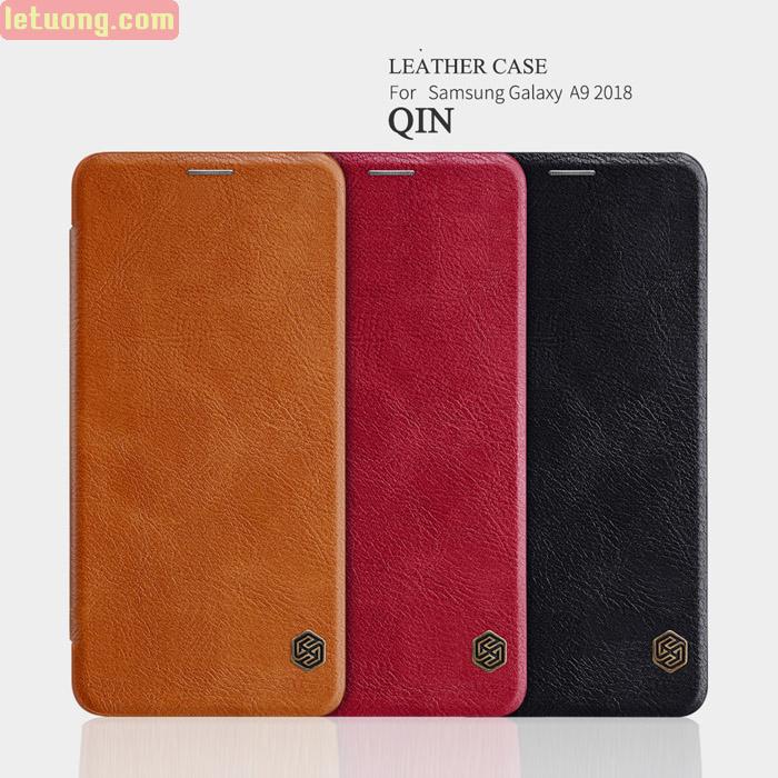 Bao da Galaxy A9 2018 Nillkin Qin Leather sang trọng - cổ điển 1