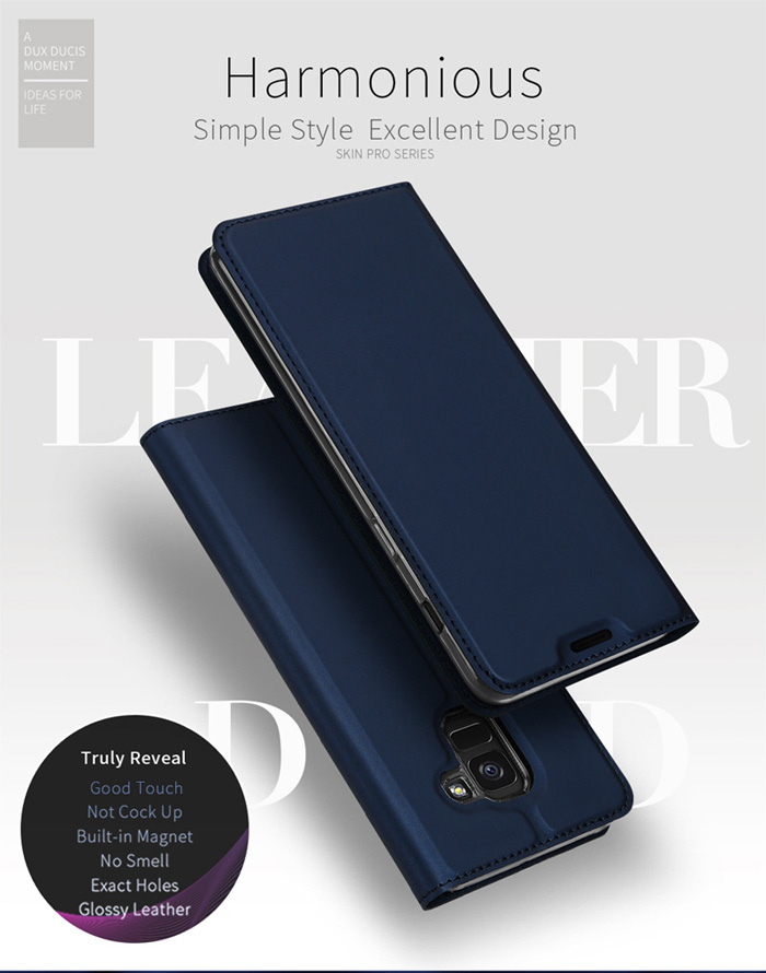 Bao da Galaxy J6 2018 Dux Ducis Skin siêu mỏng - khung mềm 1