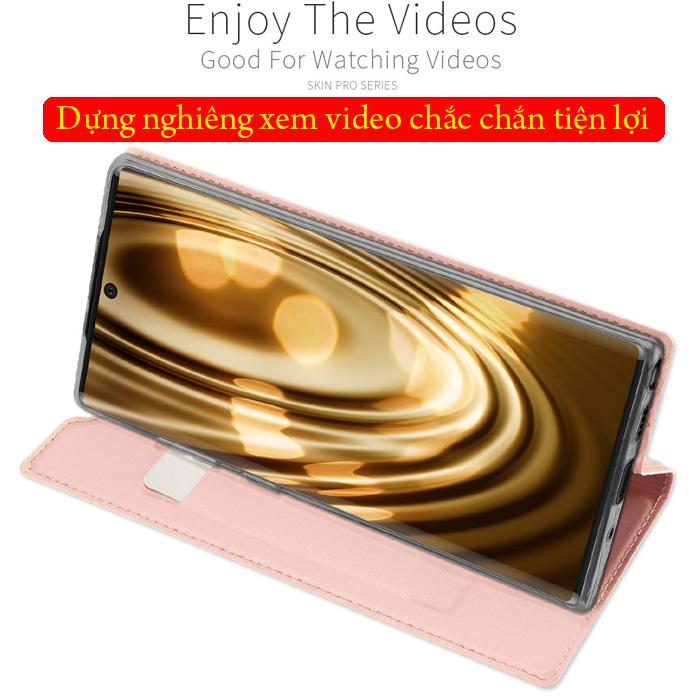 Bao da Galaxy Note 10 Dux Ducis Skin khung mềm - siêu mỏng - siêu mịn 3