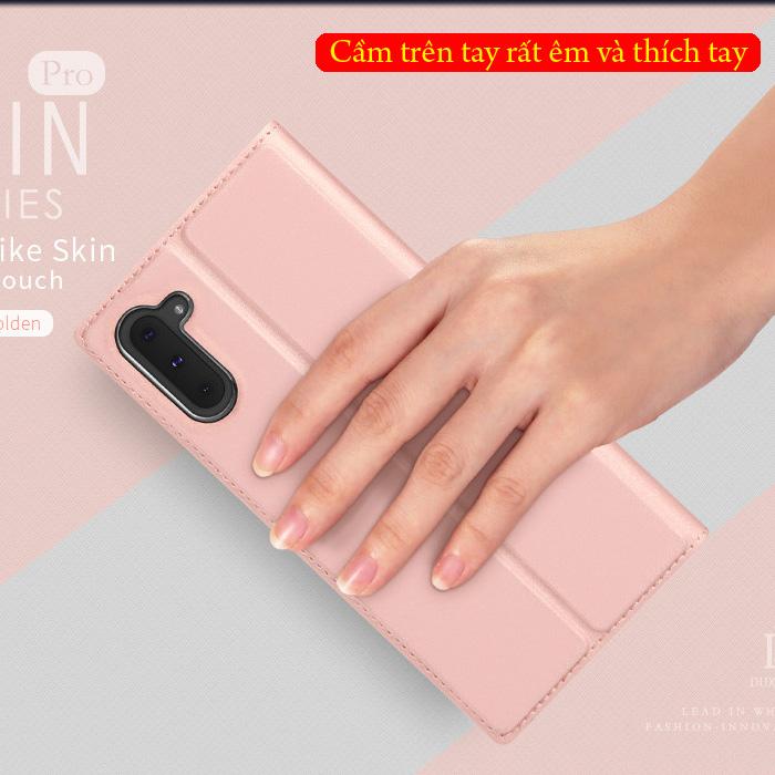 Bao da Galaxy Note 10 Dux Ducis Skin khung mềm - siêu mỏng - siêu mịn 1