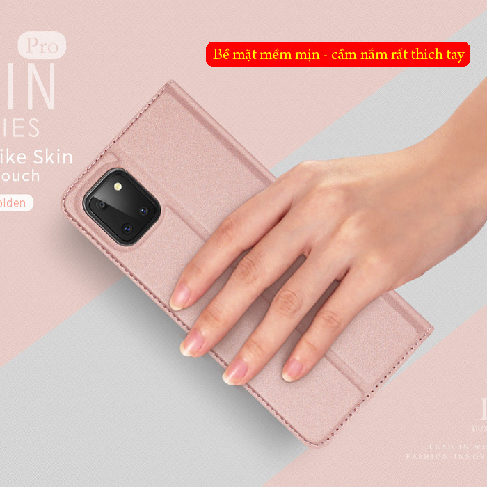 Bao da Galaxy Note 10 Lite Dux Ducis Skin khung mềm - siêu mỏng - siêu mịn 1