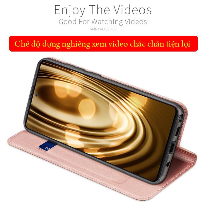 Bao da Galaxy Note 10 Lite Dux Ducis Skin khung mềm - siêu mỏng - siêu mịn 3