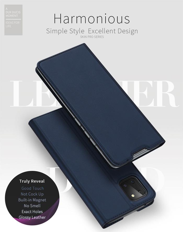 Bao da Galaxy Note 10 Lite Dux Ducis Skin khung mềm - siêu mỏng - siêu mịn 4