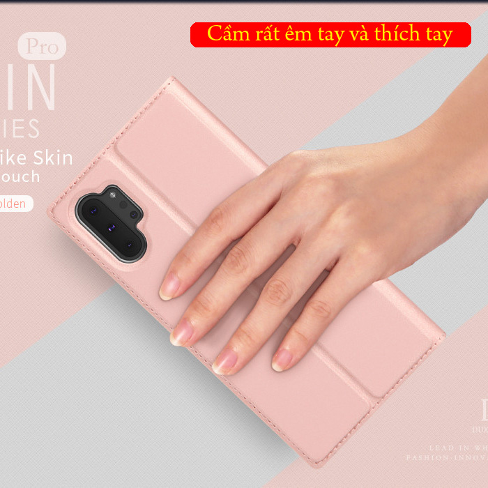 Bao da Galaxy Note 10 Plus Dux Ducis Skin khung mềm - siêu mỏng - siêu mịn 1