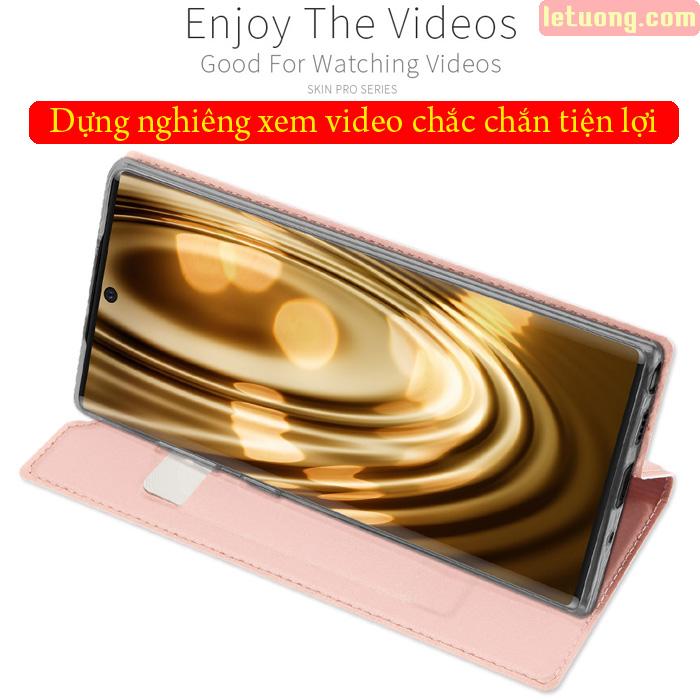 Bao da Galaxy Note 10 Plus Dux Ducis Skin khung mềm - siêu mỏng - siêu mịn 3